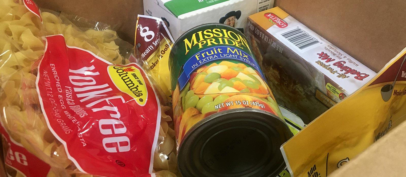 Food Box Items
